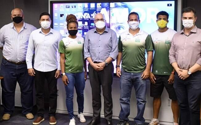 Atletas de Campinas que vão a Tóquio são recebidos na Prefeitura