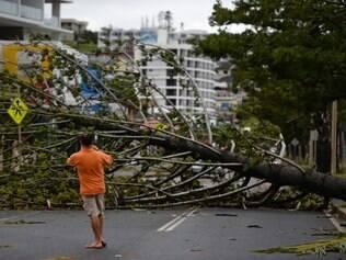 Nenhuma pessoa ficou ferida, segundo balanço inicial, depois da passagem de dois ciclones na costa australiana