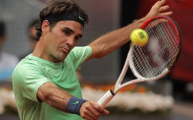 2º) Roger Federer - tenista
