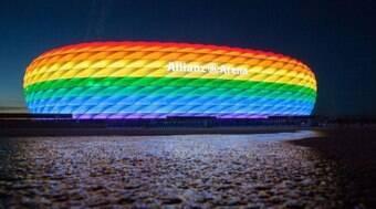 UEFA veta iluminação de estádio em gesto contra a homofobia