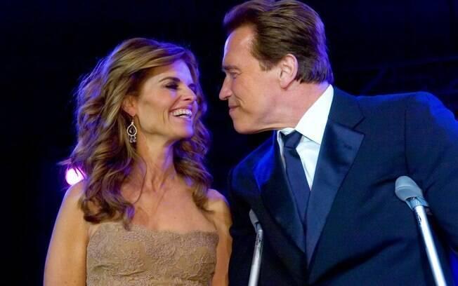 Arnold Schwarzenegger e Maria Shriver enquanto estavam casados: volta?