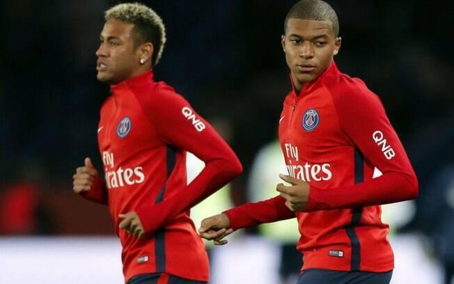 Juntos, Mbappé e Neymar somam cerca de R$ 1,5 bilhão ao Paris Saint-Germain