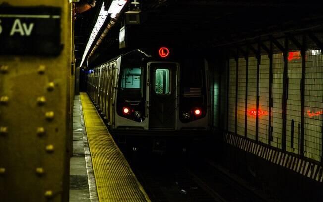 metrô em NY