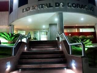 O Hospital do Coração, em Londrina, no Paraná, onde Luciano está internado