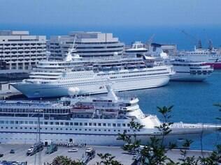 Porto de Barcelona: mais de 1 milhão de passageiros por ano