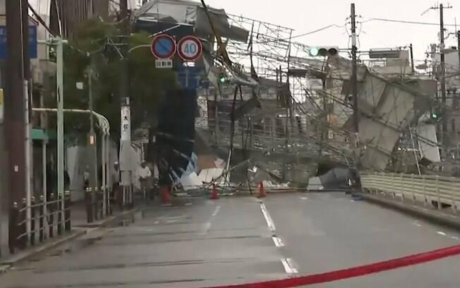 O tufão Jebi é considerado o mais poderoso a tocar o solo do Japão nos últimos 25 anos; veja detalhes sobre sua passagem