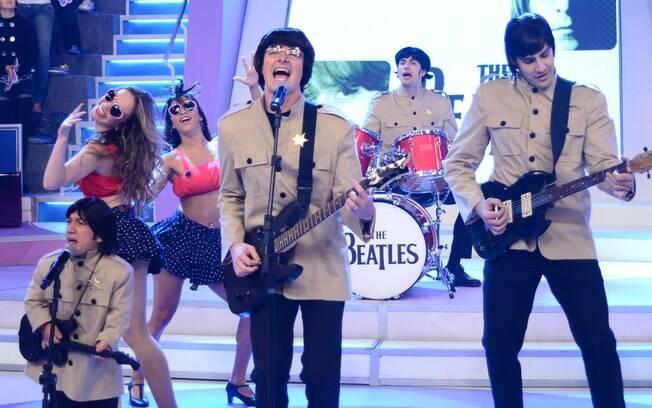 Rodrigo Faro se transforma em John Lennon