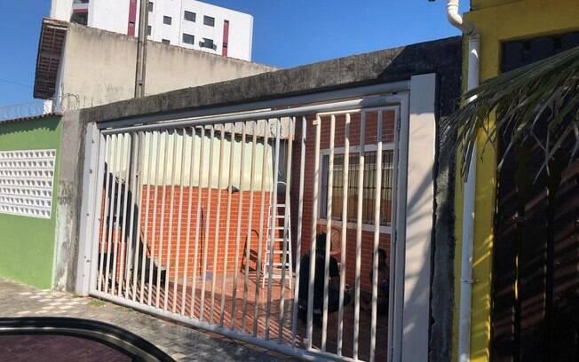 Casa utilizada como cativeiro para o sequestro do empresário paulistano