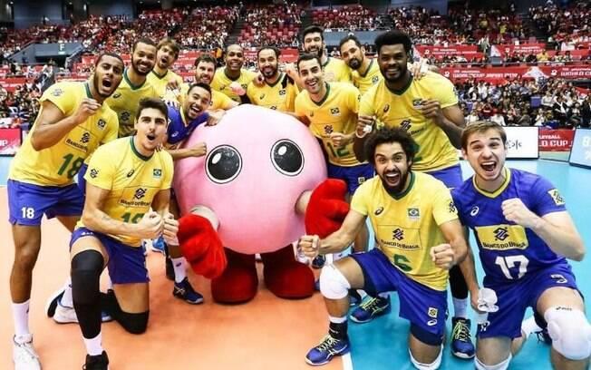 Brasil venceu o Japão e conquistou o tricampeonato da Copa do Mundo de vôlei