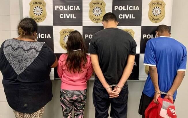 Suspeitos foram presos no Rio Grande do Sul