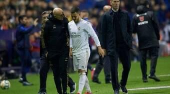 Hazard tem lesão confirmada e não encara o City