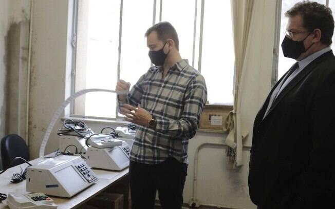 Tribunal realiza auditoria de urnas eletrônicas em Campinas
