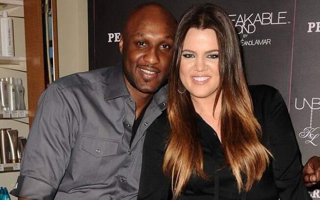 Lamar Odom já namorou a Kardashian