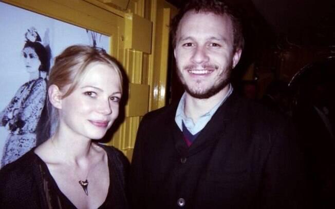 Heath Ledger e Michelle Williams: o último relacionamento sério da vida do ator foi com a atriz, com quem teve sua filha Matilda Ledger