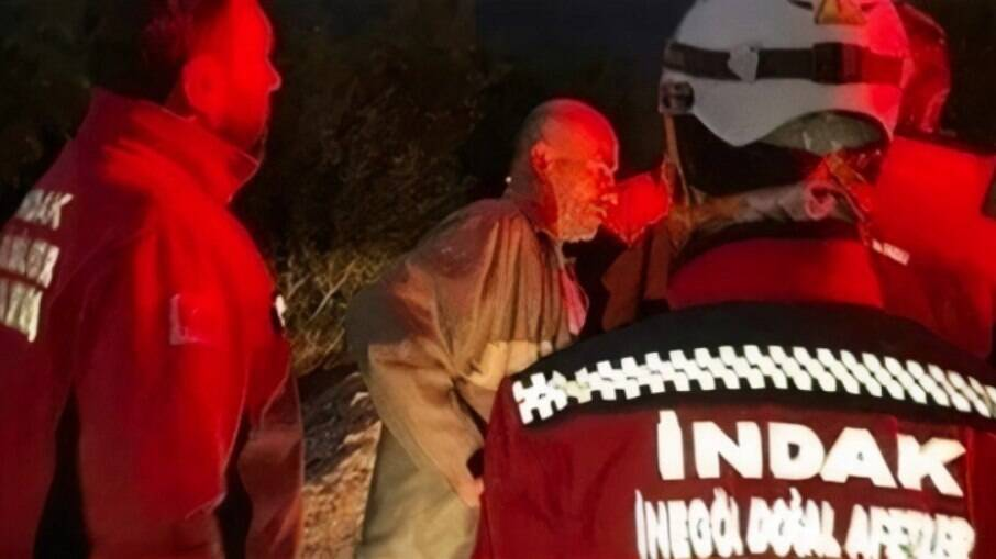 Bêbado, Beyhan Mutlu foi considerado desaparecido e ajudou nas buscas de si mesmo