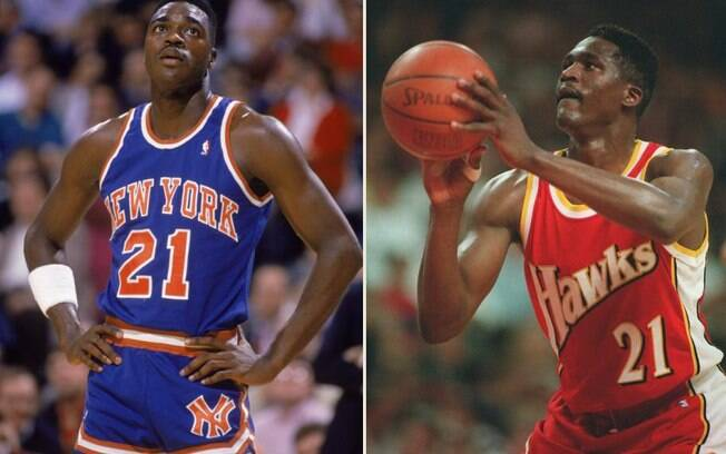 Gerald e Dominique Wilkins jogaram em times  diferentes durante quase toda a carreira na NBA.  Até que, em 1999, se encontraram no Orlando Magic