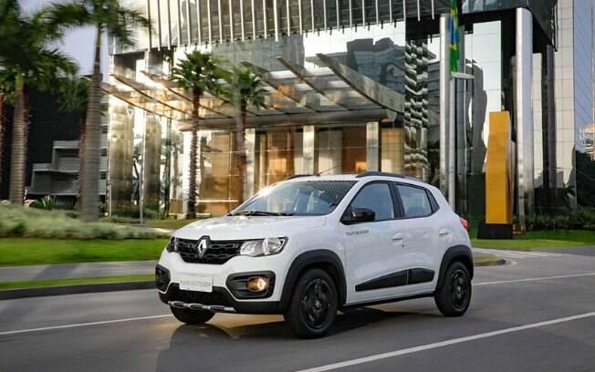 Renault Kwid Outsider é o mais em conta da seleção dos 10 carros mais vendidos completões