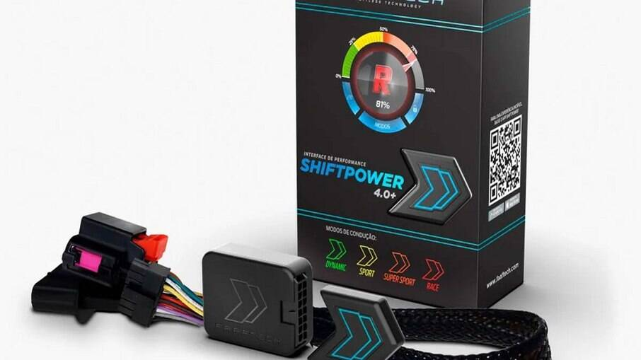 Shift Power 4.0+ possui mais de 300 mapas de performance além de ativar e desativar os modos manobrista.