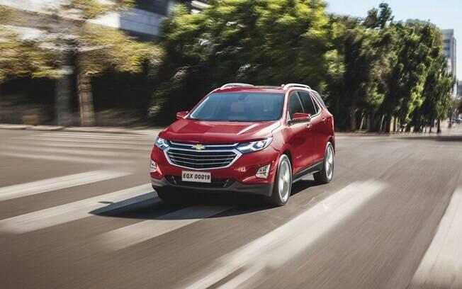 Chevrolet Equinox 2019 recebe itens de segurança a mantém o motor 2.0, turbo, de 263 cv, com câmbio de 9 marchas