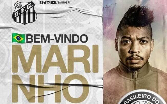 Marinho é o novo reforço do Santos