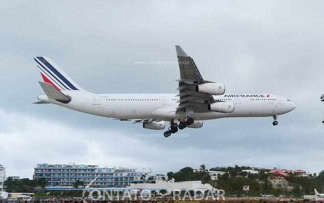 Air France aposenta definitivamente seus Airbus A340