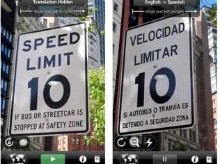 Grátis para Android e iPhone, Word Lens traduz palavras em sete idiomas