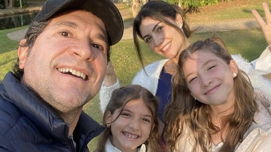 Daniel, Luiza, Aline e Lara
