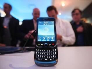 BlackBerry: vendas em queda nos Estados Unidos