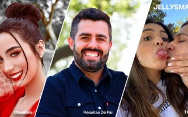 Jellysmack assina Claudipia, Receitas de Pai, e Thai e Biel, grandes nomes latino-americanos do YouTube, ao seu Programa de Criadores