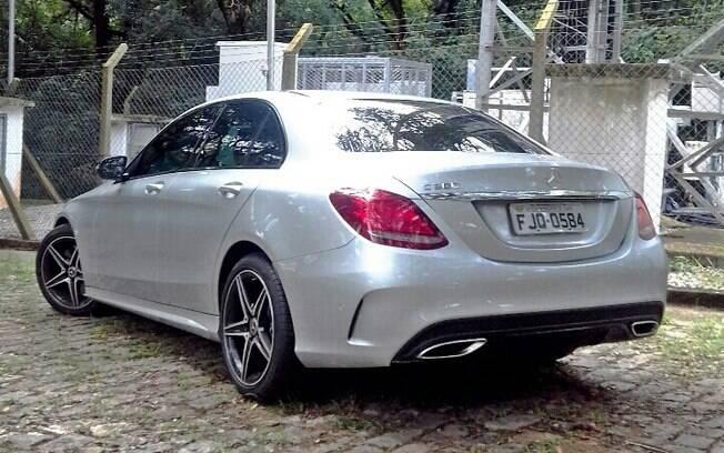 Mercedes Benz C300 Sport. Foto: Divulgação