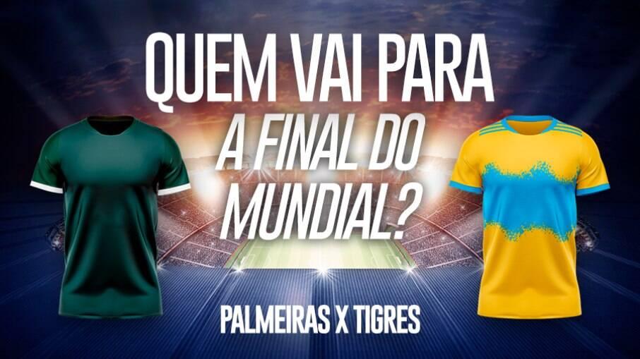 Palmeiras e Tigres disputam uma das vagas na final do Mundial de Clubes
