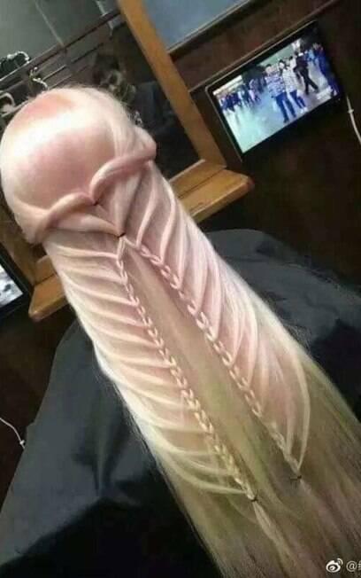 cabelo com trança
