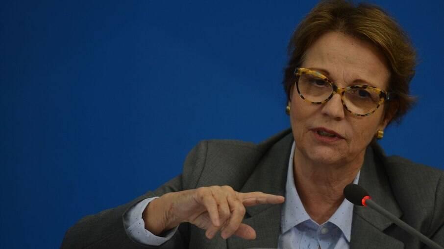 Ministra da Agricultura Tereza Cristina