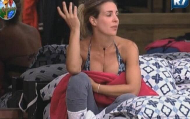 Joana conta detalhes sobre o seu relacionamento com Adriano