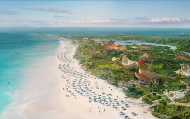 A Disney anunciou uma nova parada dos cruzeiros nas Bahamas: Lighthouse Point