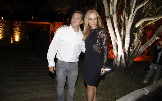 Luciano Huck e Angélica