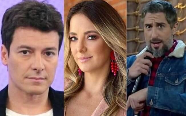 Rodrigo Faro, Ticiane Pinheiro e Marcos Mion