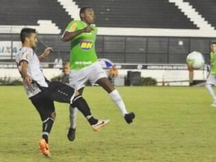 Obina não balançava as redes desde a fase de classificação do Campeonato Mineiro