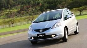 Honda Fit é o hatch seminovo mais vendido na internet