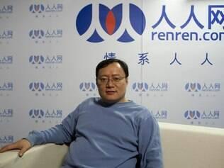 Joseph Chen, fundador do Renren: site é o