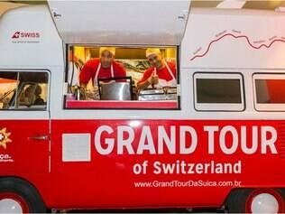 A gastronomia suíça chega ao Brasil acompanhando a onda dos food trucks.