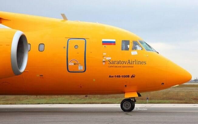 Avião da Saratov Airlines sumiu dos radares minutos após ter decolado de Moscou para a cidade de Orsk