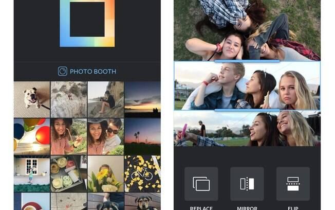 Layout é aplicativo de montagem de fotos do Instagram, que agora chega também para dispositivos móveis que rodam Android. O app é gratuito