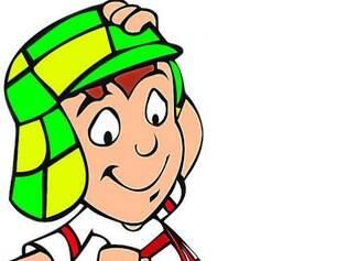 O personagem Chaves na caracterização do desenho animado