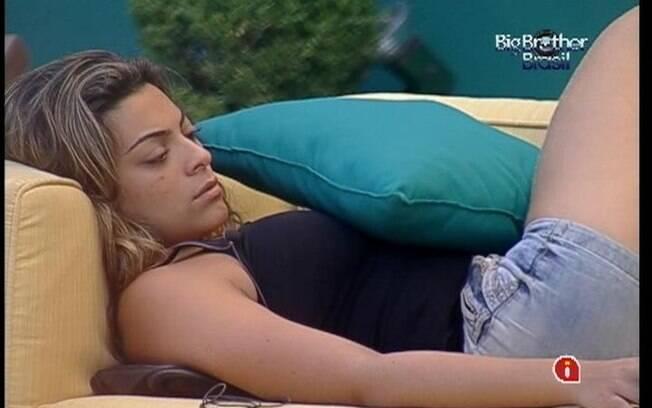 Gaúcha teme pelas palavras de Bial na eliminação