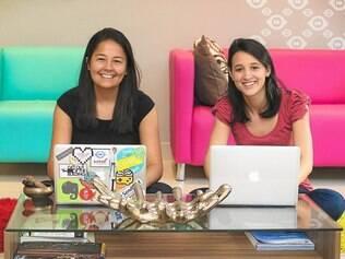 Rentável. Marcela Kashiwagi e Ana Paula Lessa, criadoras do site, saíram do emprego formal para gerenciarem o rentável Cabe na Mala
