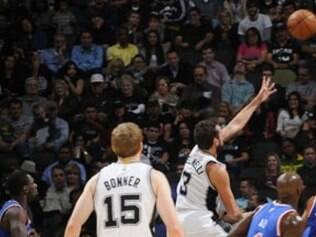 O Spurs derrotou o New York Knicks por 109 a 95