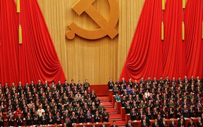 Cerca de três mil membros do Congresso Nacional do Povo votaram emendas para a Constituição da China hoje (11)