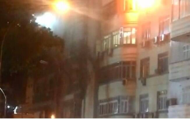 Incêndio ocorreu em dois apartamentos
