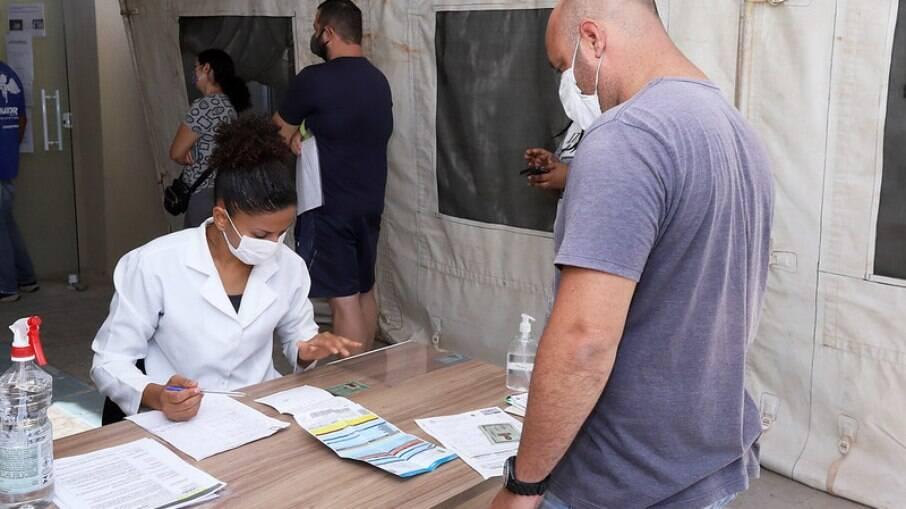 Vacinação em Campinas.